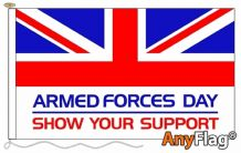 - ARMED FORCES DAY ANYFLAG RANGE - VARIOUS SIZES
